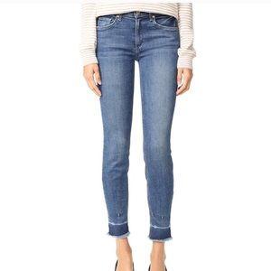 Anthropologie McGuire jeans frayed hem new